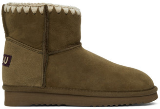 Mou Green Classic Boots
