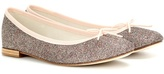 Repetto Cendrillon glitter ballerinas
