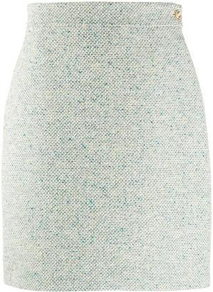 Gucci Textured High-Waisted Skirt