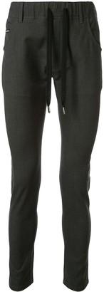 Dolce & Gabbana Drawstring Waist Skinny Trousers