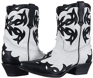 Laredo Aladina (Black/White/Black) Women's Boots