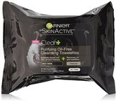 Garnier SkinActive Clean+ Purifying Oil-Free Cleansing Towelettes