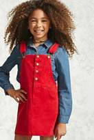 Forever 21 Girls Overall Dress (Kids)