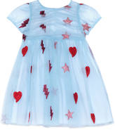 Gucci Baby embroidered tulle dress