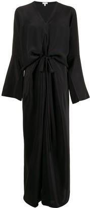 Loewe Draped Silk Dress