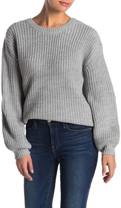 Heartloom Lorna Back Lace-Up Sweater
