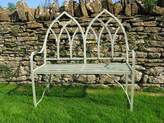 Ironart of Bath Gothic Two Seat Bench