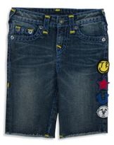 True Religion Toddler's & Little Boy's Geno Patchwork Shorts