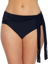 CoCo Reef Cascade Fringe High-Waist Bikini Bottom