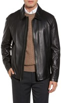 Cole Haan Men's Lamb Leather Jacket