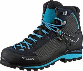 Salewa WS Crow Gore-TEX Trekking & hiking boots Women's Blue (Premium Navy/Ethernal Blue) 6 UK