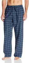 Intimo Men's Medium Plaid Flannel Pajama Pant