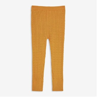 Joe Fresh Toddler Girls' Sweater Legging, Mustard (Size 3)