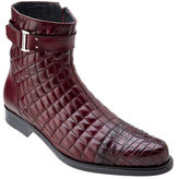 Belvedere Men's Libero Quilted Caiman Ankle Boot