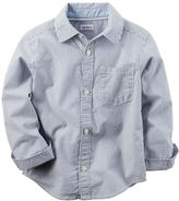Carter's Boys 4-8 Woven Button-Down shirt