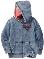Dx-Xtreme Superman Other Color Burnout Hoodie (Little Boys)