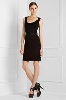 Trapunto-Stitched Ponte Dress