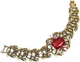 One Kings Lane Vintage Amerique Ruby Crystal Bracelet
