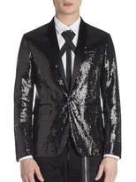 Viktor & Rolf Men's Beverly Paillettes Tux Jacket