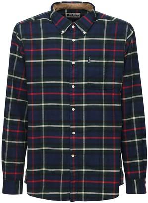 Barbour Check Cotton Flannel Shirt