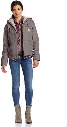 Visit the Carhartt Store Women's Sherpa Lined Sandstone Sierra Jacket Fleece