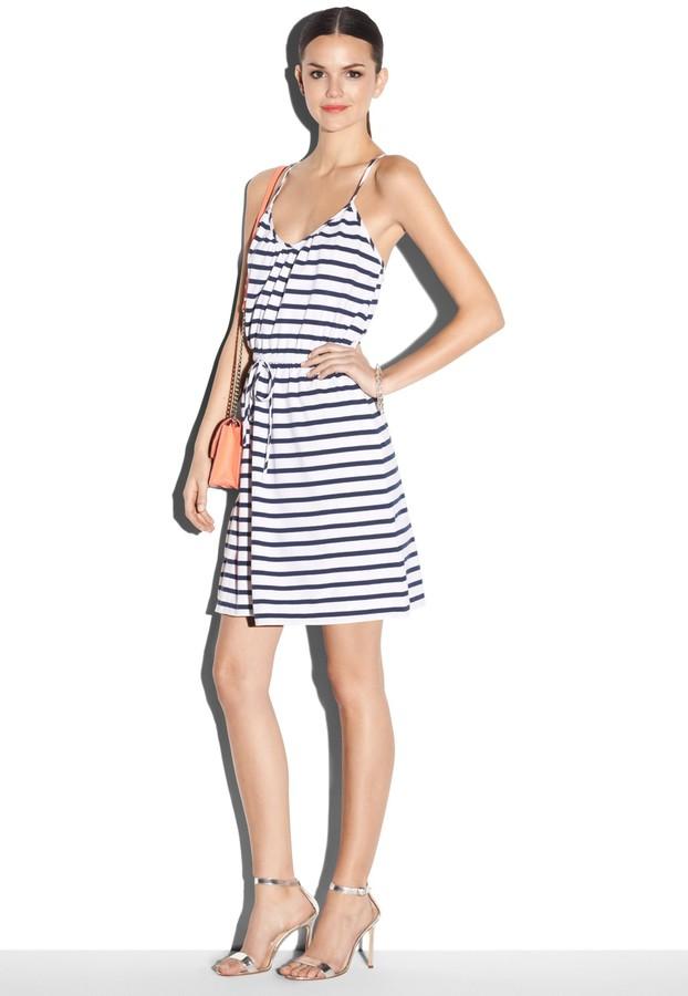 Milly Striped Tank Dress