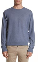 Todd Snyder Men's Cashmere & Linen Crewneck Sweater