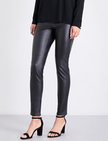 MICHAEL Michael Kors Skinny high-rise faux-leather leggings
