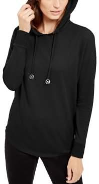 Michael Kors Michael Petite Drop-Shoulder Hoodie