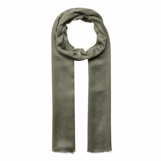 Codello Women's Grey Wool and Modal Scarf 70 x 190 cm