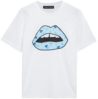 Markus Lupfer Printed Stretch-cotton Jersey T-shirt