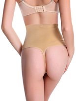 SLTY Women G-string Panty Sexy Thong Waist Trainer Cincher Tummy Control Shaper