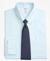 Brooks Brothers Regent Fitted Dress Shirt, Non-Iron Tonal Stripe