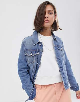Tommy Jeans trucker jacket-Blue