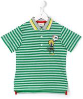 Fendi striped polo shirt - kids - Cotton - 8 yrs