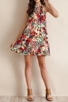 Entro Floral Tank Dress