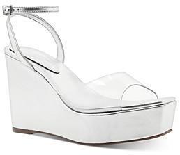 Schutz Women's Divany Platform Wedge Sandals