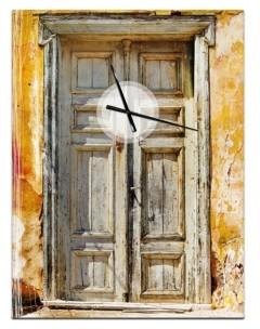 Design Art Designart Oversized Vintage Metal Wall Clock