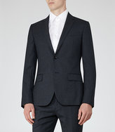 Reiss Ackley B Wool And Silk Blazer