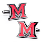 Ice Miami University of Ohio Cufflinks