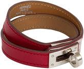 One Kings Lane Vintage Hermès Double-Wrap Kelly Red Bracelet