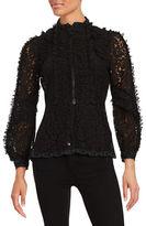 Anna Sui Embellished Lace Jacket