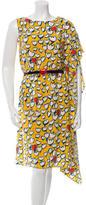 Tsumori Chisato Printed Silk Dress w/ Tags