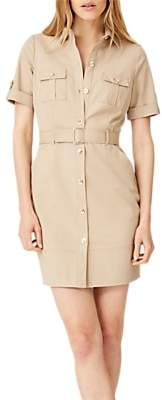 Damsel in a Dress Fia Safari Dress, Stone