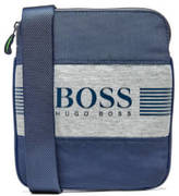 BOSS GREEN Men's Pixel J Cross Body Bag Navy