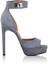 Givenchy Women's Shark Line Platform Sandals-DARK GREY