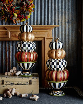 Mackenzie Childs MacKenzie-Childs Entryway Stacking Pumpkins