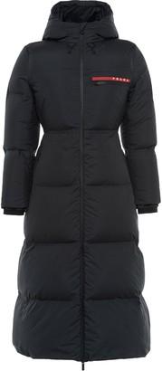 Prada Linea Rossa HX022 technical puffer coat