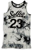 Soprano Girls 7-16 Tie Dye Selfie Tank