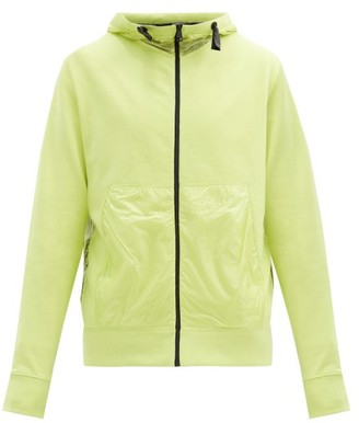 5 Moncler Craig Green - Zipped Cotton And Ripstop Hooded Sweatshirt - Yellow